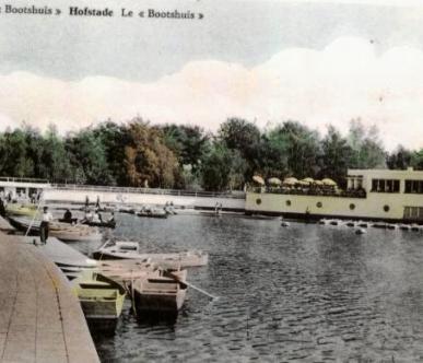 carte postale brasserie Bootshuis