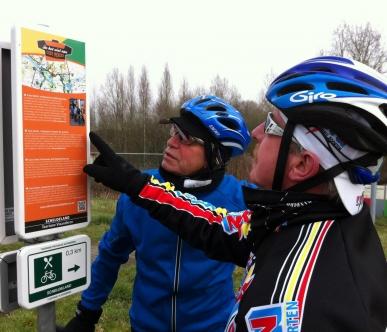 Fietslussen 'in het wiel van Eddy Merckx'