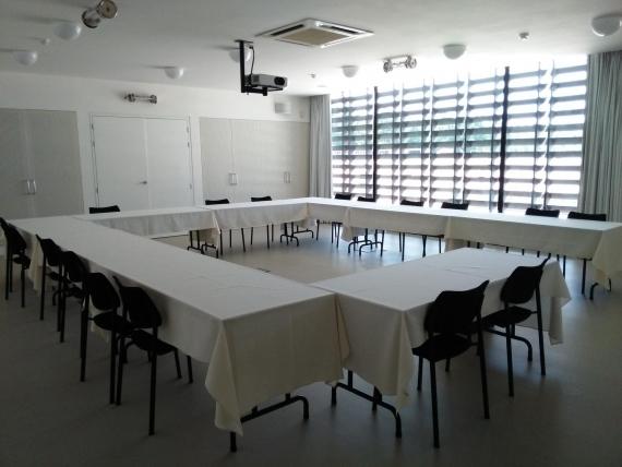 De vergaderaccommodatie