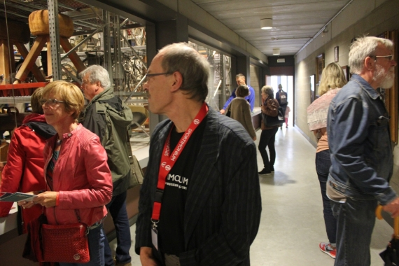 rondleiding in het museumdepot