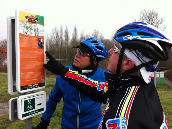 Cycling circuit 'in het wiel van Eddy Merckx'