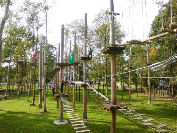 The high ropes course